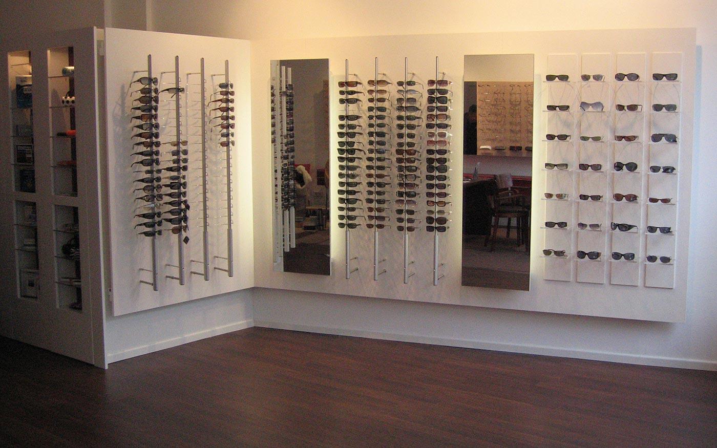 Ladenbau für Brillengeschäft
